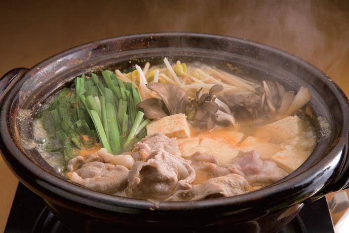 ピリ辛とり野菜みそ鍋