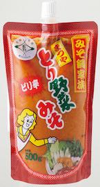 ピリ辛とり野菜みそスパウトパック(500g)
