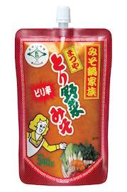 ピリ辛とり野菜みそスパウトパック(340g)