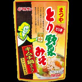 ピリ辛とり野菜みそキムチ鍋スープ