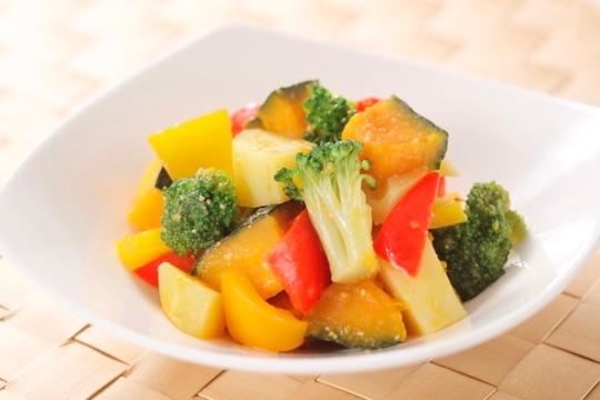とり野菜みそ温野菜サラダ