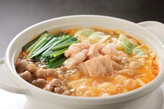 モツ鍋(ピリ辛とり野菜みそ)
