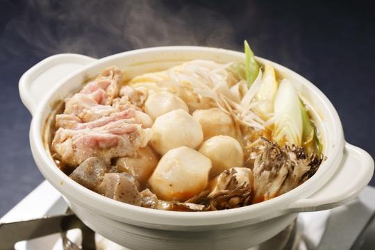 いも煮鍋(ピリ辛とり野菜みそ)