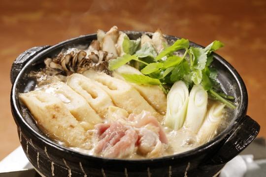 きりたんぽ鍋(とり野菜みそ)